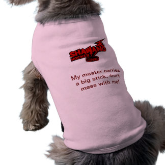 Pet Clothing with comment - Pink