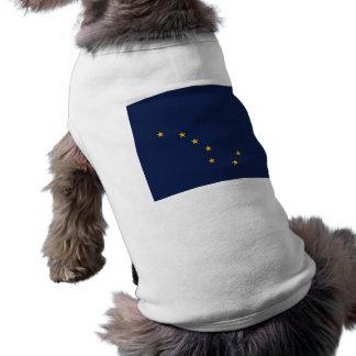 Pet Clothing with Flag of Alaska, USA