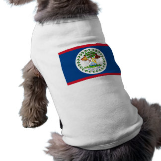 Pet Clothing with Flag of Belize