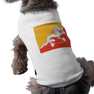Pet Clothing with Flag of Bhutan