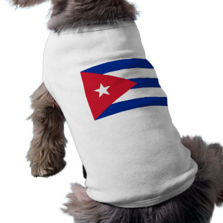 Pet Clothing with Flag of Cuba