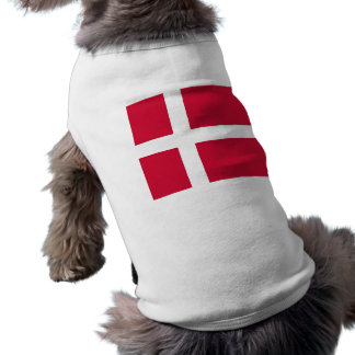 Pet Clothing with Flag of Denmark