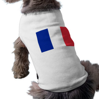 Pet Clothing with Flag of France