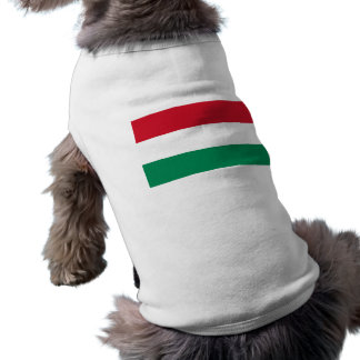 Pet Clothing with Flag of Hungary