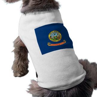Pet Clothing with Flag of Idaho, USA