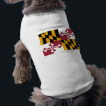 """Pet Clothing with Flag of Maryland, USA<br><div class=""""desc"""">Awesome pet clothing with Maryland,  Flag of United States of America.</div>"""