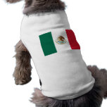 Pet Clothing with Flag of Mexico