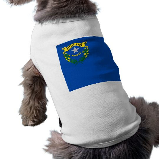 Pet Clothing with Flag of Nevada, USA