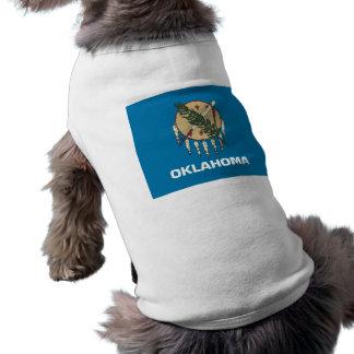 Pet Clothing with Flag of Oklahoma, USA