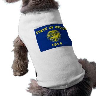 Pet Clothing with Flag of Oregon, USA
