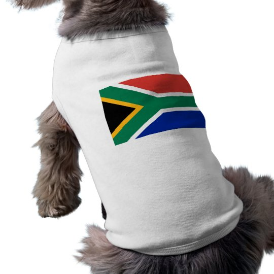 Pet Clothing with Flag of South Africa