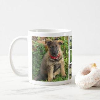 Pet Collage Photo Mug (Grass)