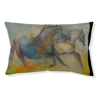 Pet Collection - Abstract colorful  Horse Pet Bed