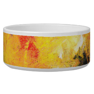Pet Collection - Abstract Food Bowl