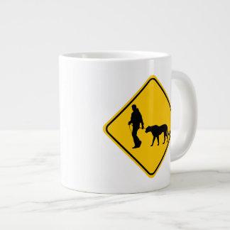 Pet Cougar Crossing Giant Coffee Mug
