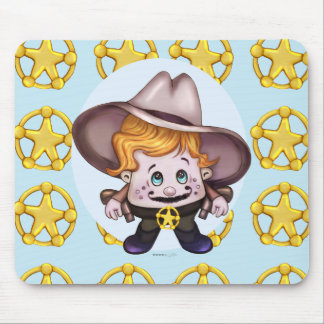 PET COWBOY  DRY MOUSE PAD