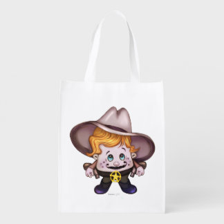 PET COWBOY sac Réutilisable, Reusable Grocery Reusable Grocery Bag