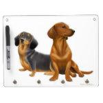 Pet Dachshund Dogs Dry Erase Board