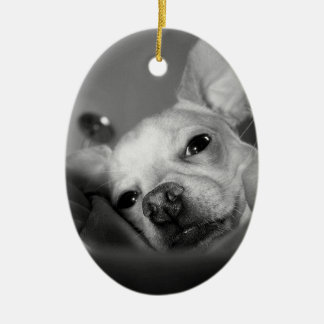 PET DETECTIVE CERAMIC ORNAMENT