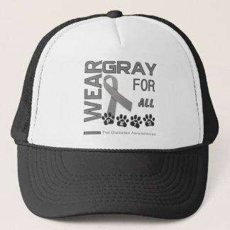 Pet Diabetes Awareness Sweatshirt and Awareness T Trucker Hat
