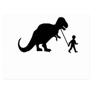 Pet Dinosaur Post Card