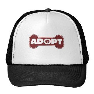 pet dog and cat adoption adopt trucker hat