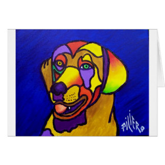Pet Dog by Piliero Card