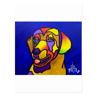 Pet Dog by Piliero Postcard