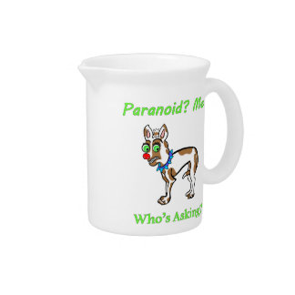 Pet Dog Chihuahua Paranoid Drink Pitcher