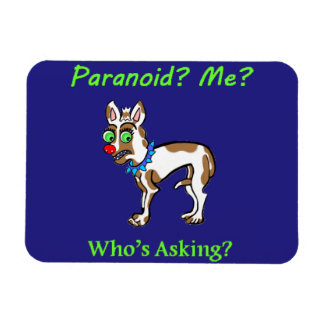 Pet Dog Chihuahua Paranoid Magnet
