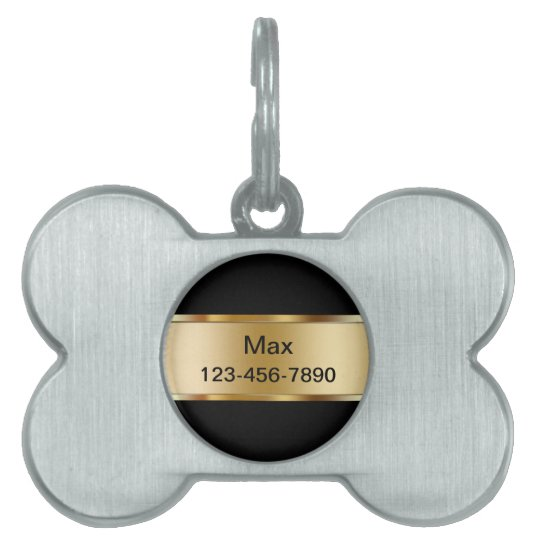 Pet Dog ID Tags Golden