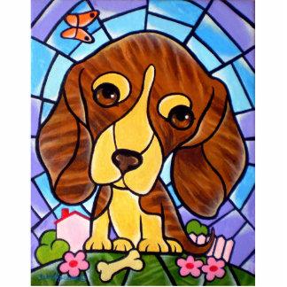 Pet Dog Painting Art - Multi Cutout