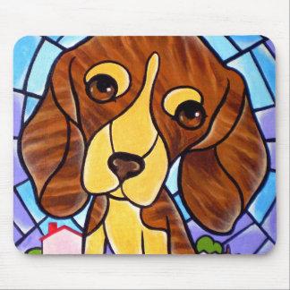 Pet Dog Painting Art - Multi Mouse Pad