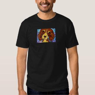 Pet Dog Painting Art - Multi T-shirt