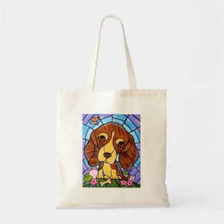 Pet Dog Painting Art - Multi Tote Bag