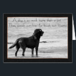 """Pet Dog Sympathy Card - Touch Our Hearts<br><div class=""""desc"""">Pet Dog Sympathy Card - Touch Our Hearts</div>"""