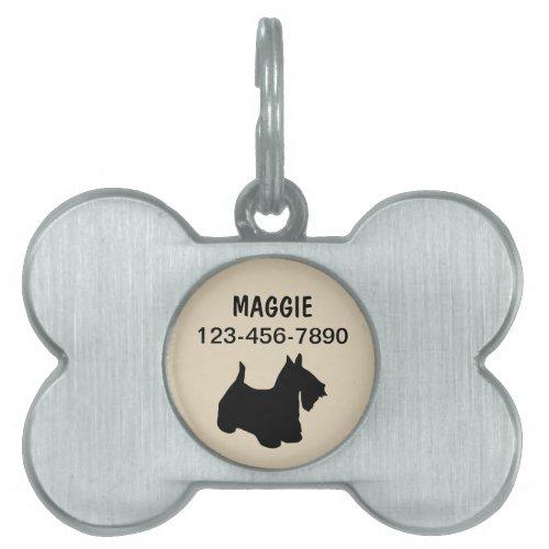 Pet Dog Tags Scottish Terrier