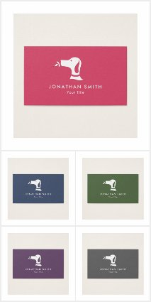 Pet Dog Veterinary Business Cards