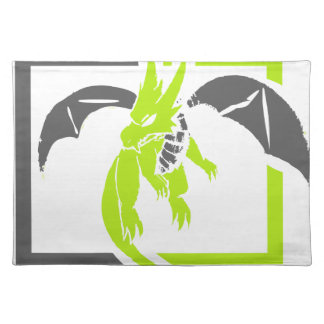 Pet Dragons Are Cool Cloth Placemat