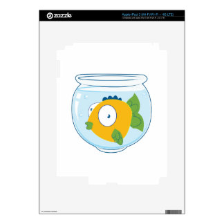 Pet Fish Decal For iPad 3