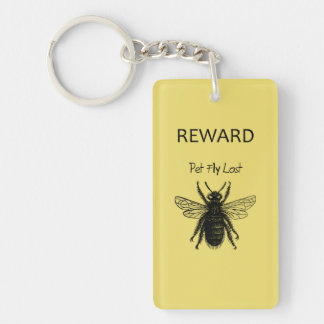 Pet Fly Keychain