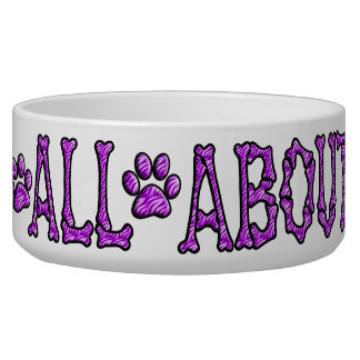 Pet Food Bowl~~~It's All About Me! Bowl