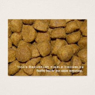 Pet Food Dog Kibble Business Card