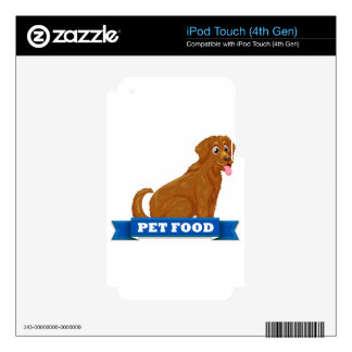 Pet food decals for iPod touch 4G