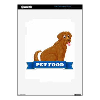 Pet food skins for iPad 2