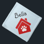 "Pet Friendly Logo or Image & Name Neckerchief Bandana<br><div class=""desc"">Customize this design and create personalized Neckerchief Bandana. You can TRANSFER this DESIGN on other Zazzle products and adjust it to fit most of Zazzle items. You can also click the CUSTOMIZE button to add, delete or change details like background color, text, font or some graphics. Standard Studio designs are...</div>"