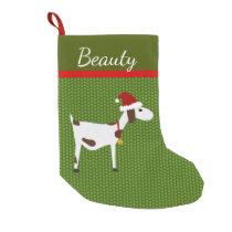 Pet Goat Christmas Stocking