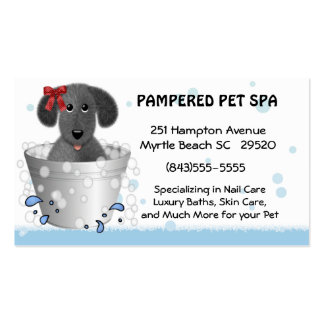 Pet Groomer Business Card
