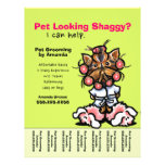 Pet Groomer Dog Grooming Personalized Tear Sheet