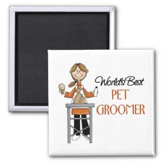 Pet Groomer Gift Magnet